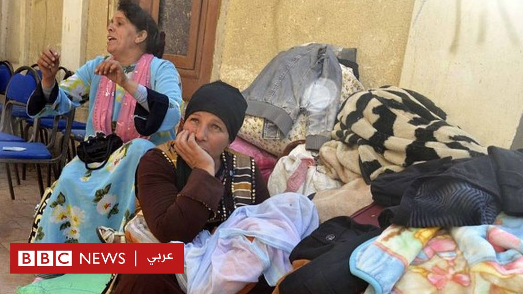 مسلمسيحي_ضد_ارهابكم  حملة ضد   تهجير_الأقباط  من العريش - BBC Arabic