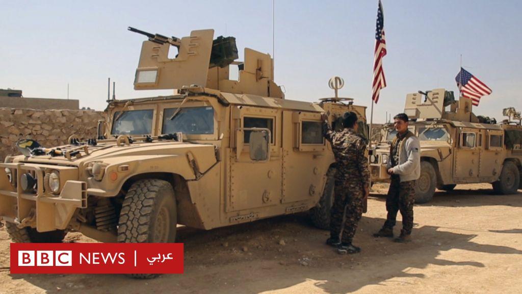 إنزال جوي لقوات أمريكية وكردية قرب مدينة الرقة معقل تنظيم الدولة في سوريا - BBC Arabic