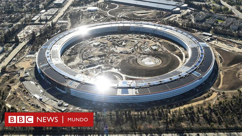 Apple park as es la futurista nave espacial dise ada for Oficinas de apple