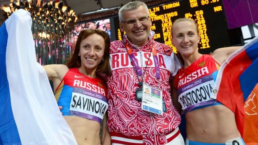 Athletics doping: Kremlin says claims are 'groundless' - BBC News