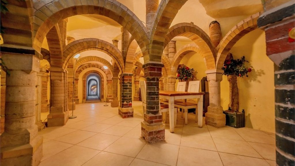 Bridgnorth Cottage With Underground Cave For Sale Bbc News