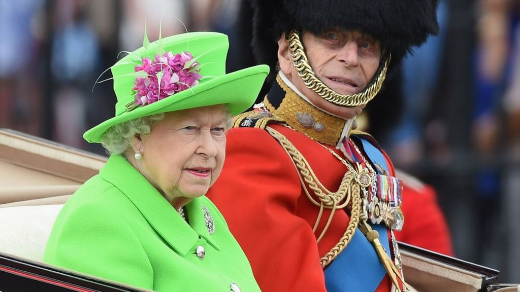 Queens 90th Birthday Is Marked At Trooping The Colour Parade