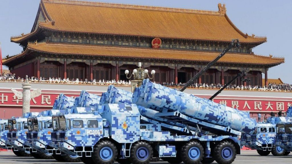 China military parade commemorates WW2 victory over Japan ...