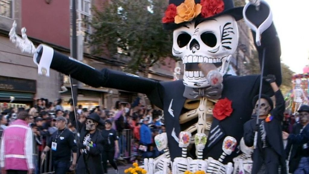 James Bond Inspires Mexico City S Day Of The Dead Parade