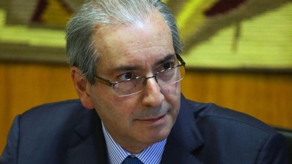 Brazil speaker Eduardo Cunha 'hid millions of dollars abroad' - BBC ...