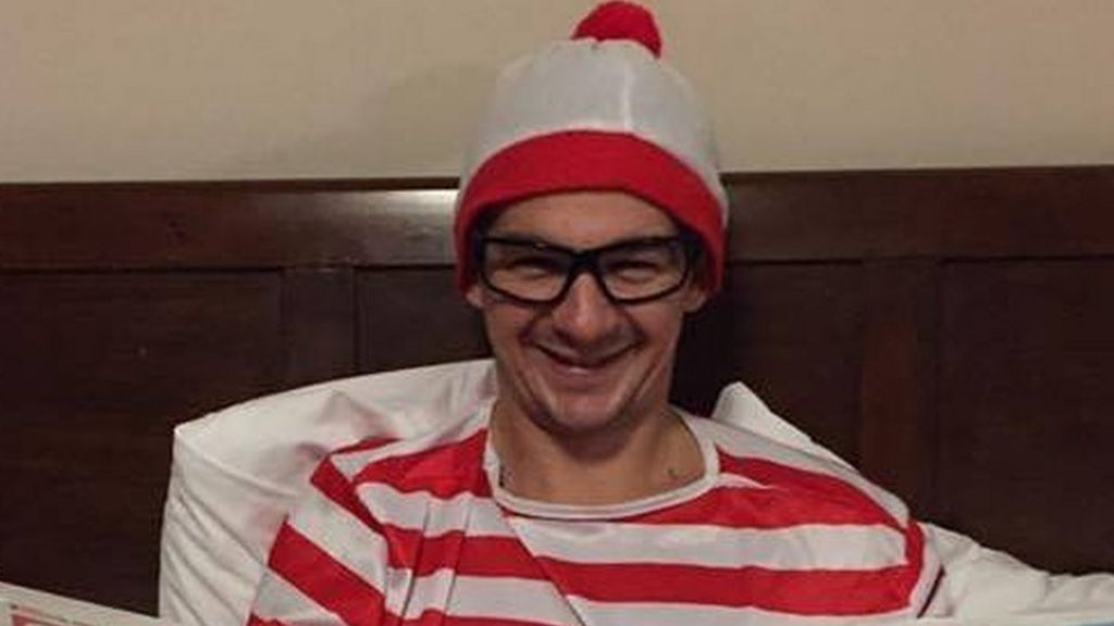 Where's Wally fugitive hands himself in during Facebook Live broadcast