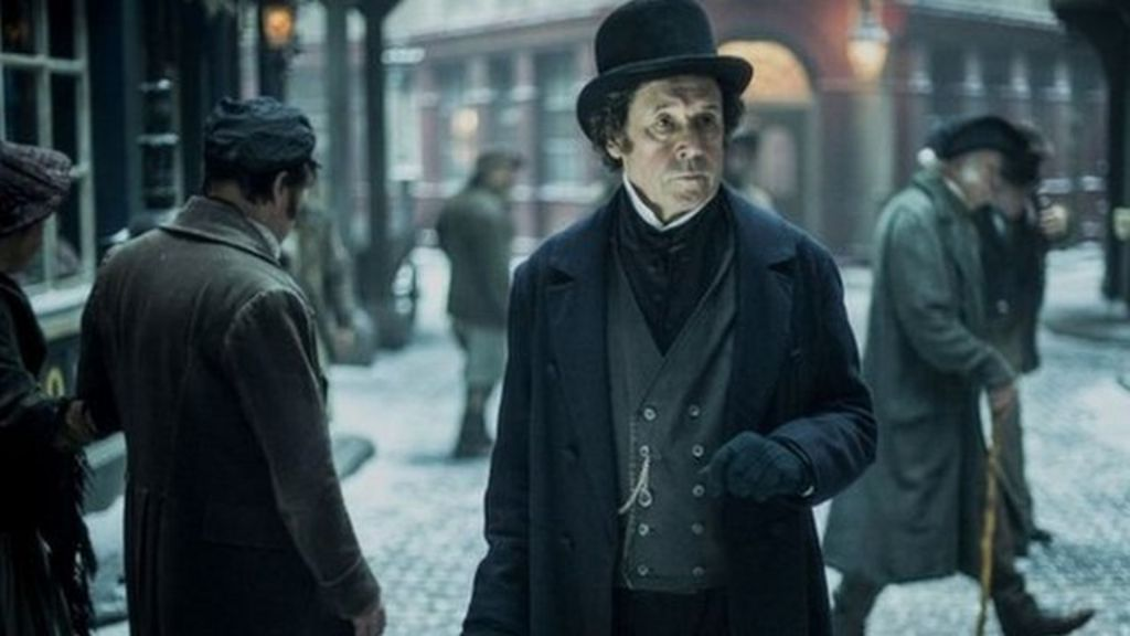 Behind the scenes at new Dickens drama - BBC News
