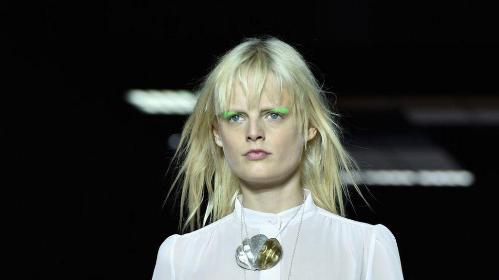 top fashion model has ...