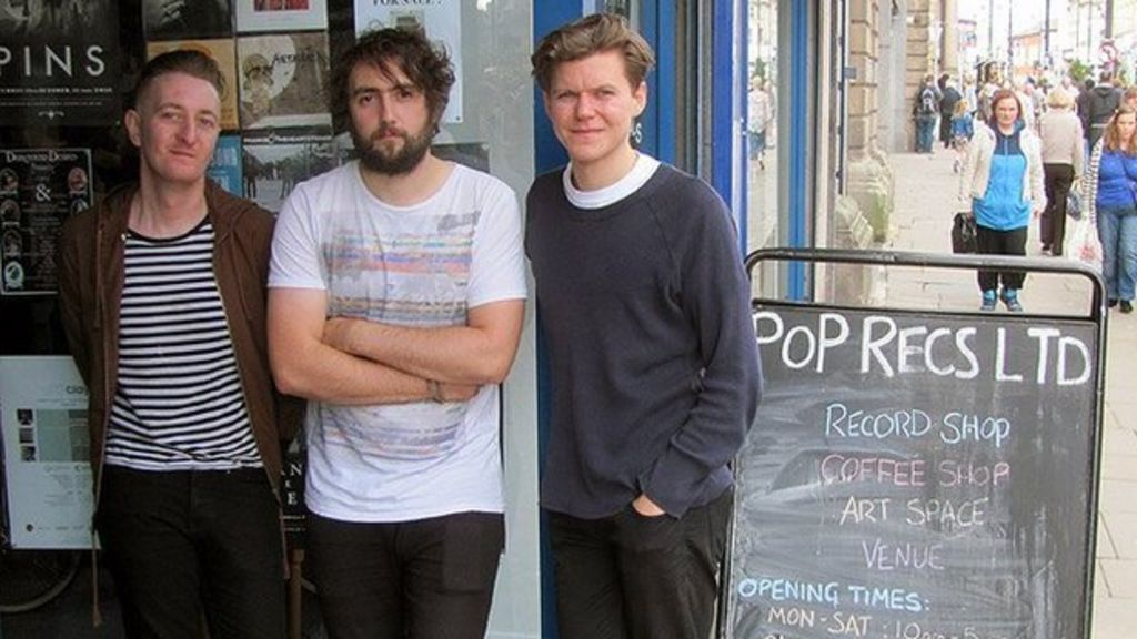 Sunderland band's record shop seeks new home after closure - BBC ...