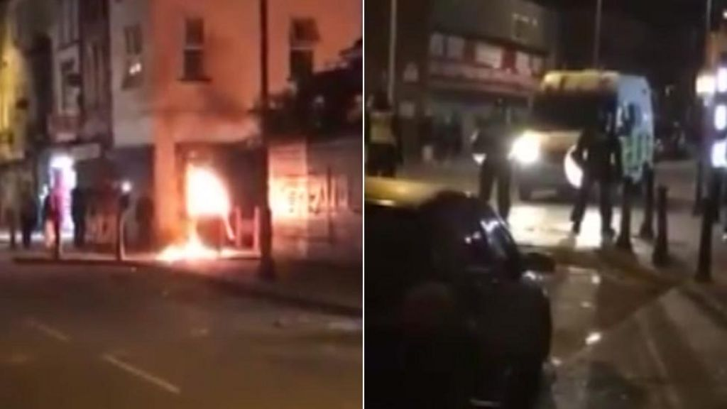 newport rioters jailed after 39 molotov cocktails 39 thrown. Black Bedroom Furniture Sets. Home Design Ideas