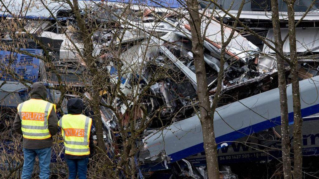 Wreckage at Bad Aibling (9 Feb)