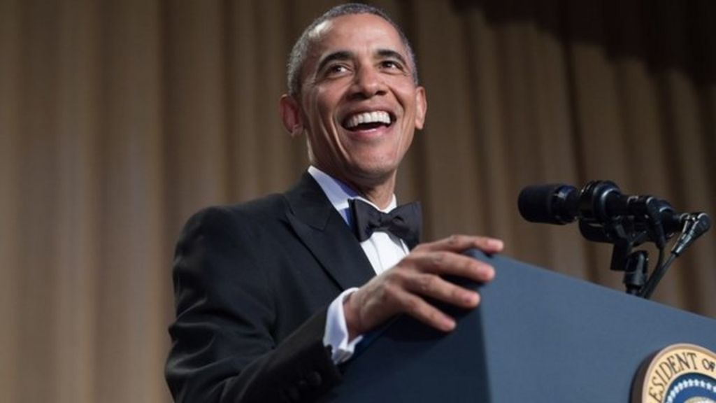 Obama breaks out one-liners at White House correspondents' dinner