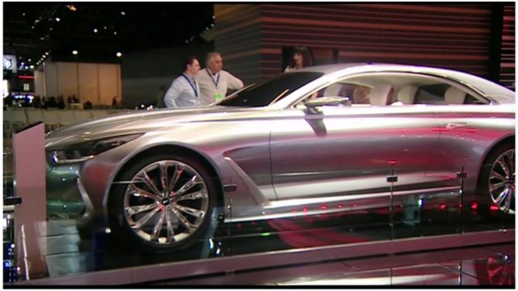 Detroit motor show upbeat despite China - BBC News