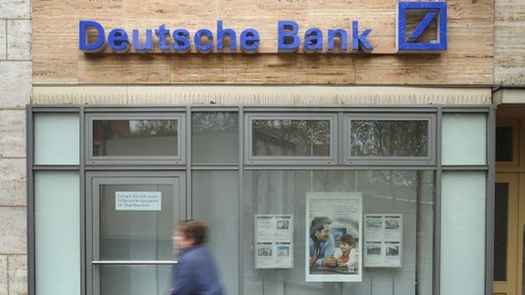 deutsche bank fined by regulators over money laundering claims bbc news. Black Bedroom Furniture Sets. Home Design Ideas