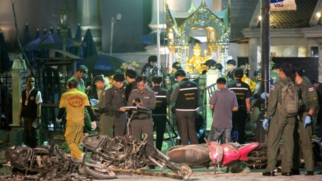 Bangkok shrine bomb who could be behind deadly attack bbc news