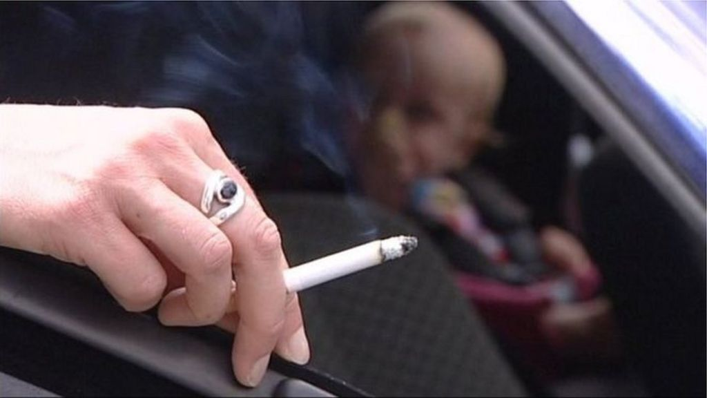 Proposals to ban smoking in cars carrying children
