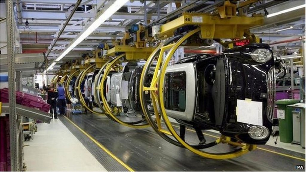 Uk Car Manufacturing Hits 10 Year High In 2015 Bbc News