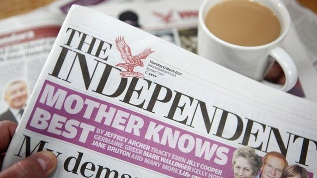 Independent newspaper dating website