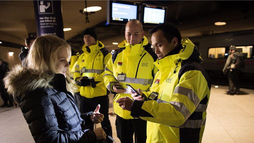 sweden ending checks trains coming from denmark