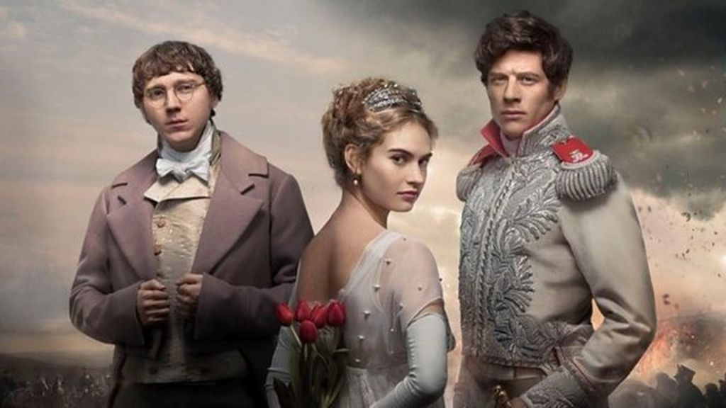 On the set of War and Peace costume drama - BBC News