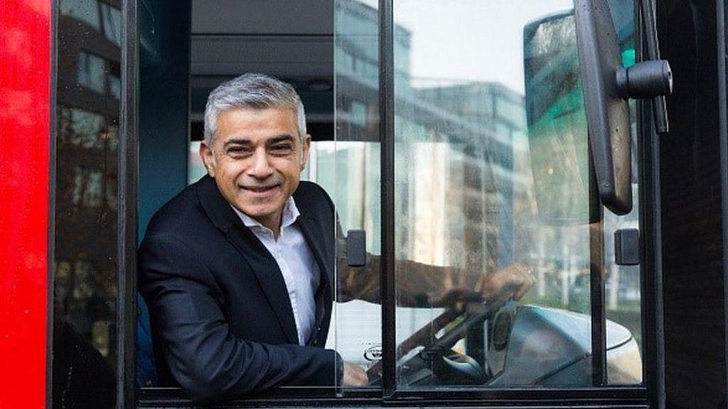 Sadiq Khan announces new London bus drivers pay deal - BBC ...