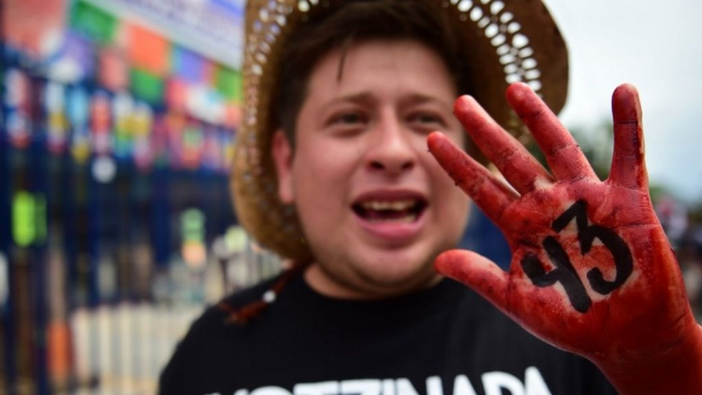 Missing students: Mexico's violent reality - BBC News