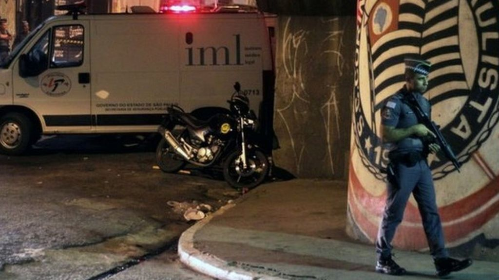 Brazil: Overnight shooting spree kills 18 in Sao Paulo - BBC News