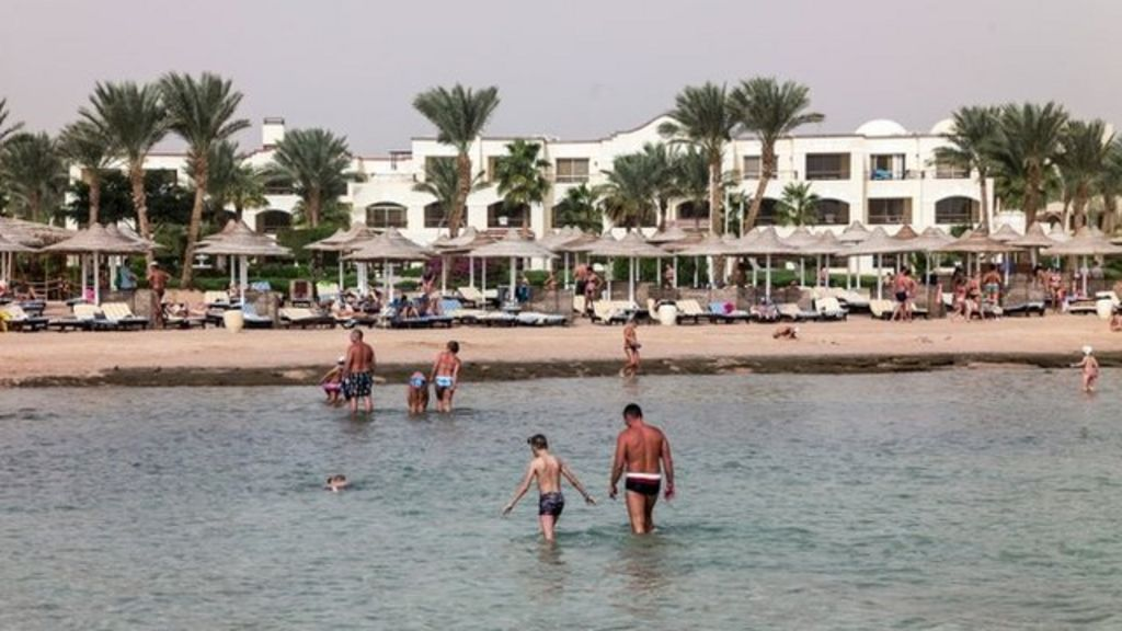 British tourists stranded in Sharm el- Sheik as flights cancelled - BBC ...