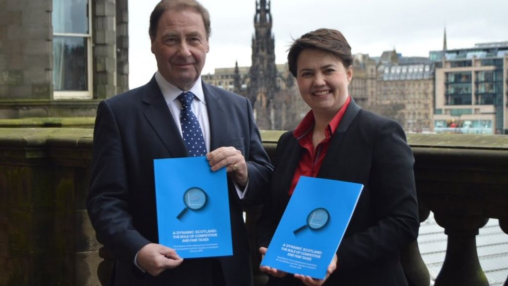 Scotland should create new income tax band, says Conservative ...