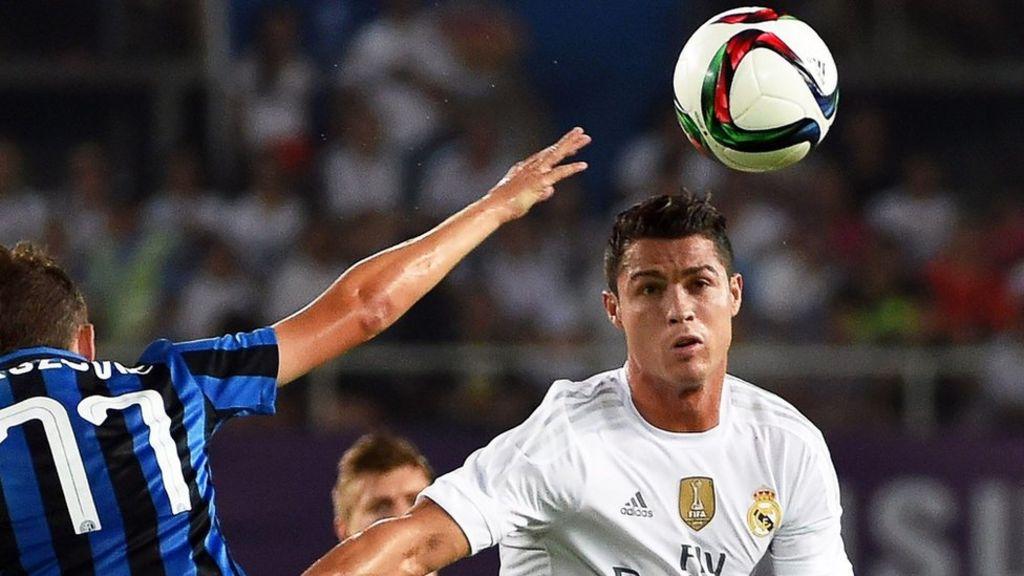Ronaldo 'gives football agent Mendes Greek island' - BBC News