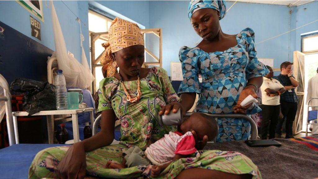 Nigeria's Boko Haram crisis: 'We survived militants but face starvation'