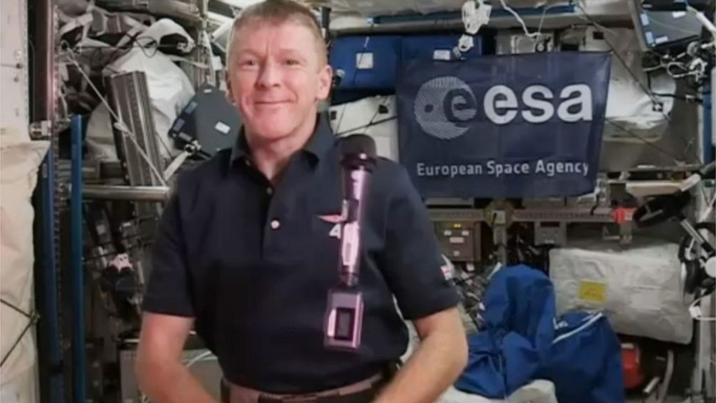 Astronaut Tim Peake calls wrong number from space station ...