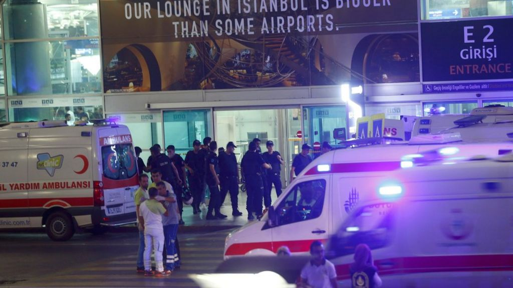 Istanbul Ataturk airport attack: At least 32 dead and dozens injured - BBC News