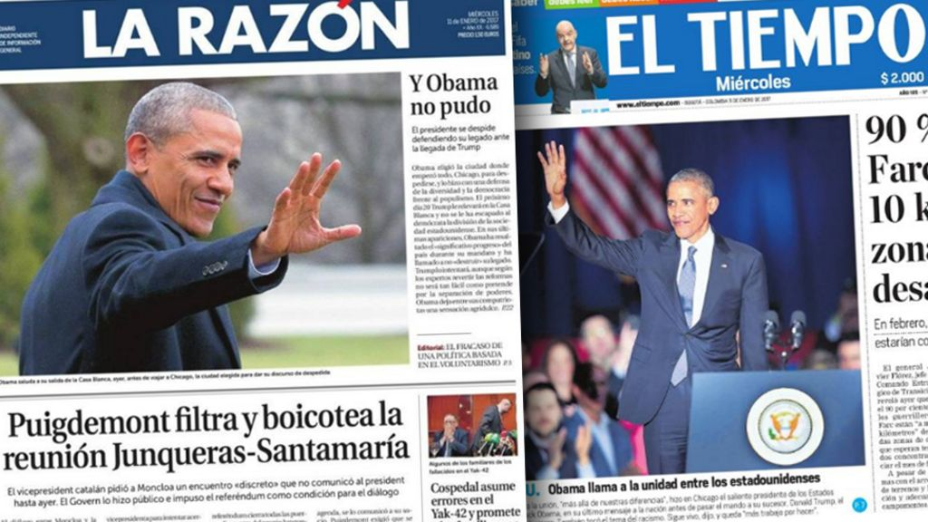 World media: 'We will miss Obama'