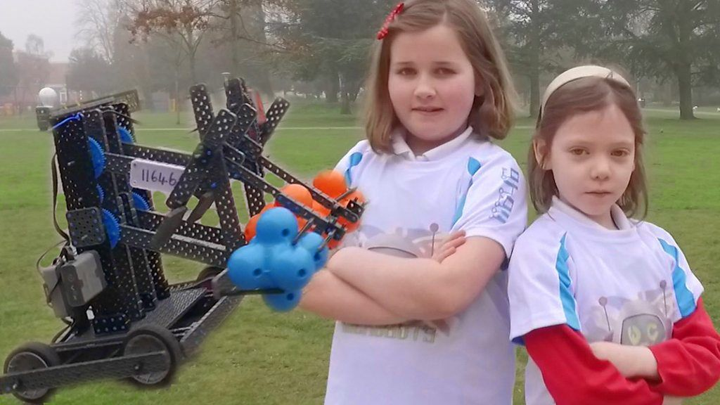 Robot Making Schoolgirls Set for World Championships