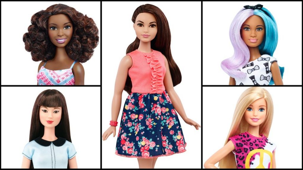 New Barbie shapes seek to entice millenial mums - BBC News