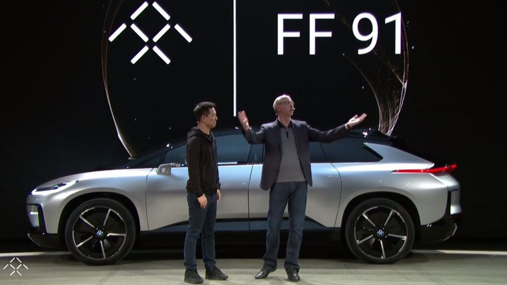 CES 2017: Faraday Future unveils super fast electric car