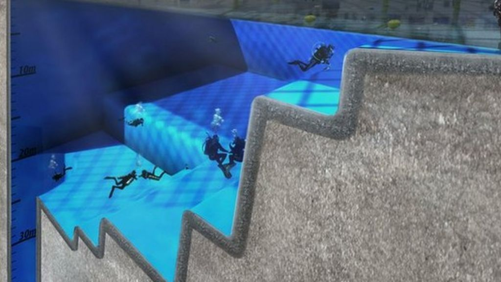 university of essex in world 39 s deepest 39 space 39 pool plan bbc news
