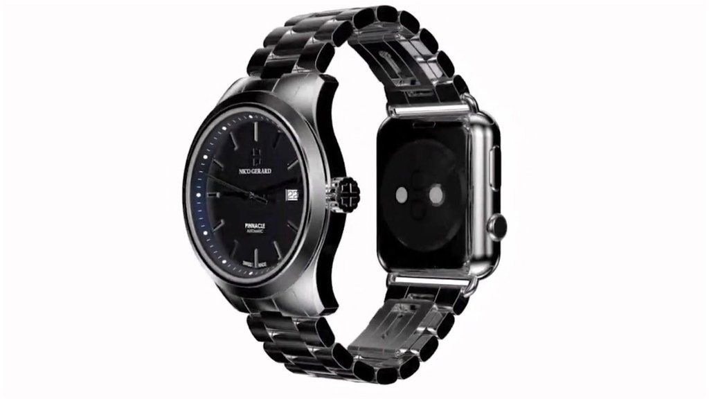 Bringing a Swiss watch and Apple Watch together