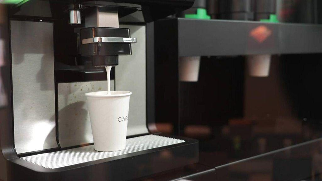 Robotic Barista Serves up Coffee