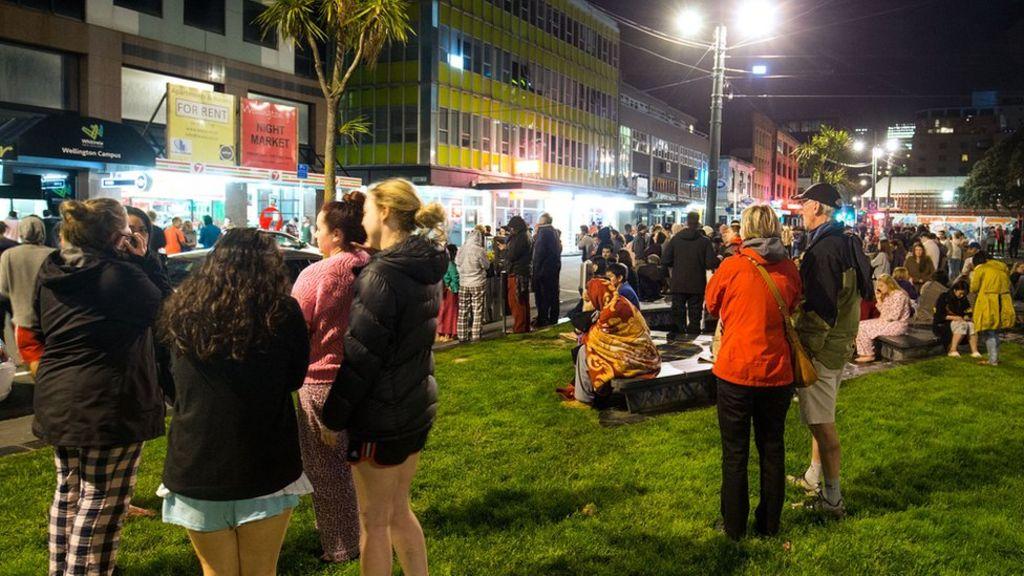 Berita Penembakan Di Selandia Baru Wallpaper: Gempa Bumi Hebat Di Selandia Baru Menewaskan Dua Orang