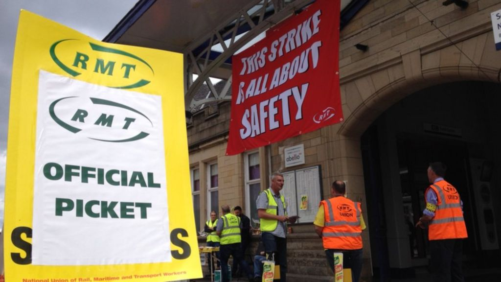 Stirling rail strike