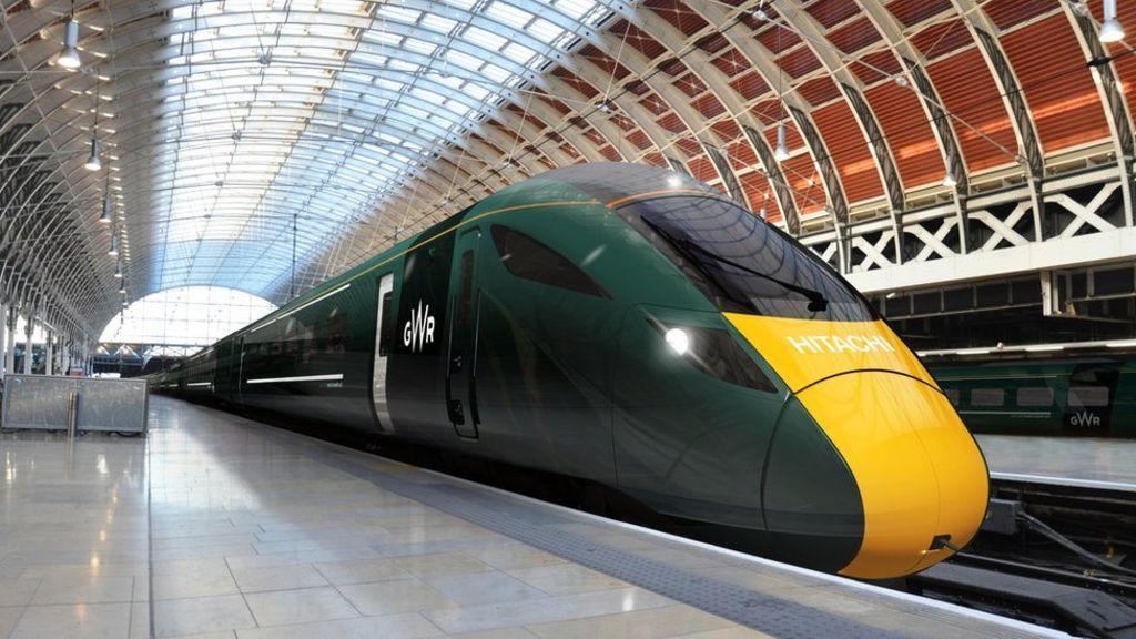 New GWR train