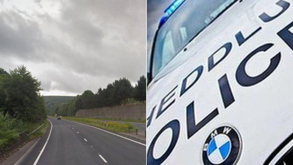 Car Crash Risca South Wales