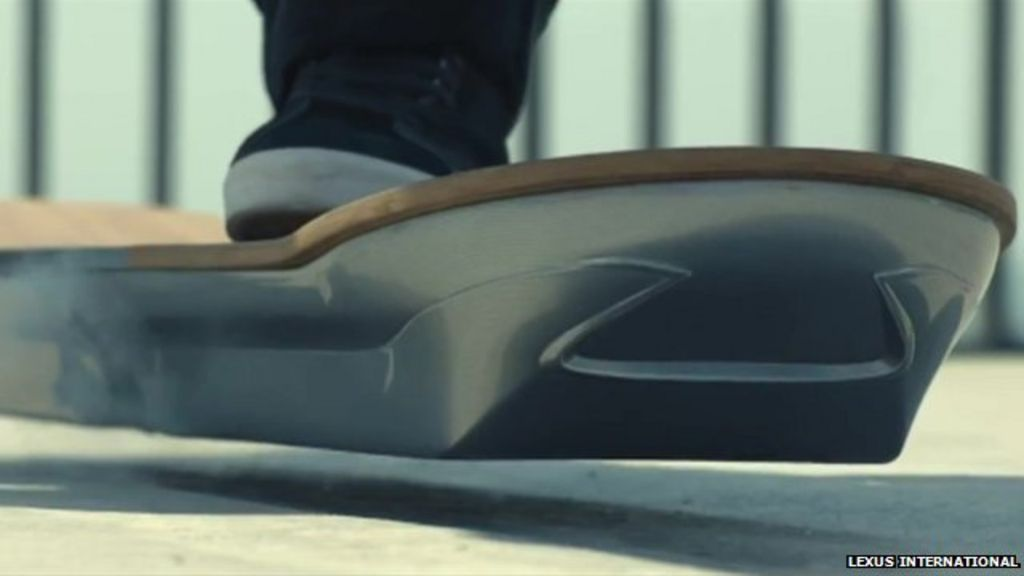 Car Audio Shop >> Levitating magnetic hoverboard unveiled - BBC News