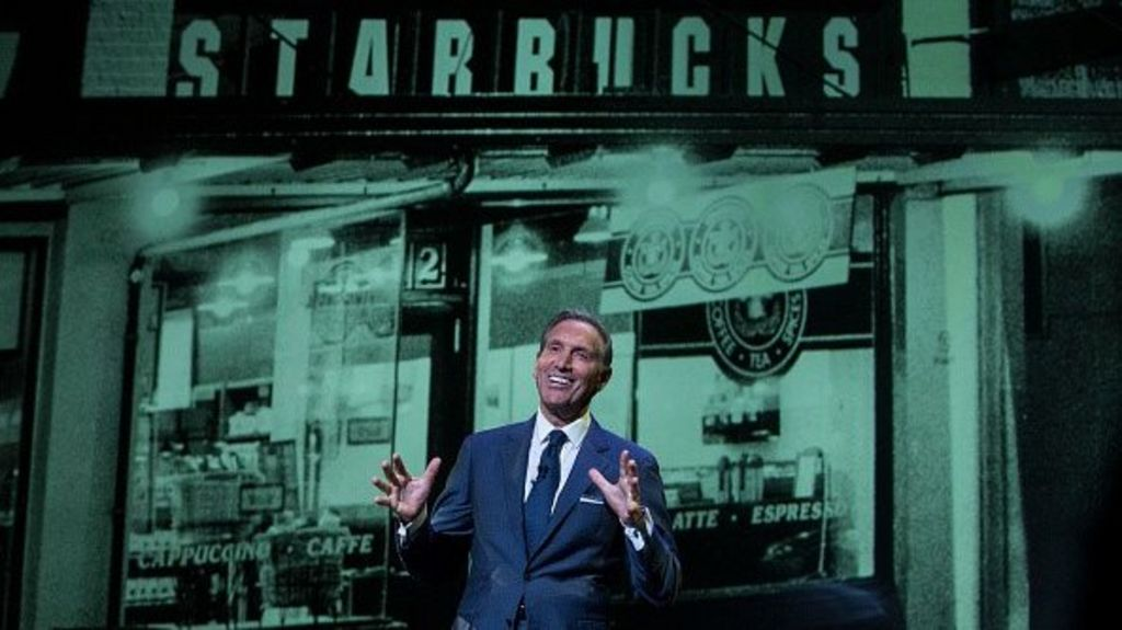 Starbucks says Schultz to step down as CEO, become chairman