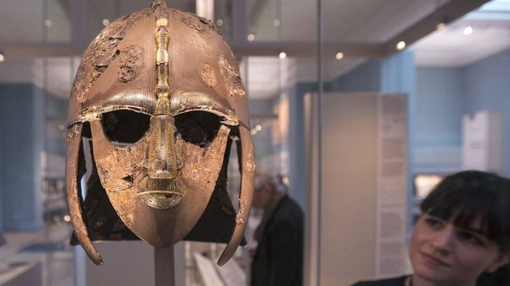 Sutton Hoo bitumen links Syria with Anglo-Saxon England