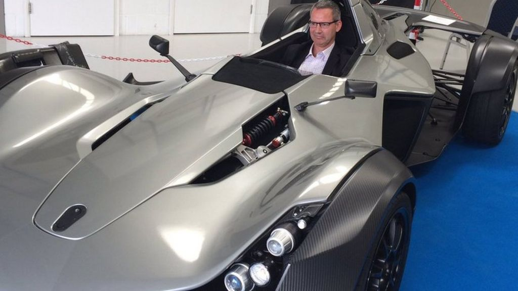 The World 39 S First Graphene Car Is Unveiled In Manchester
