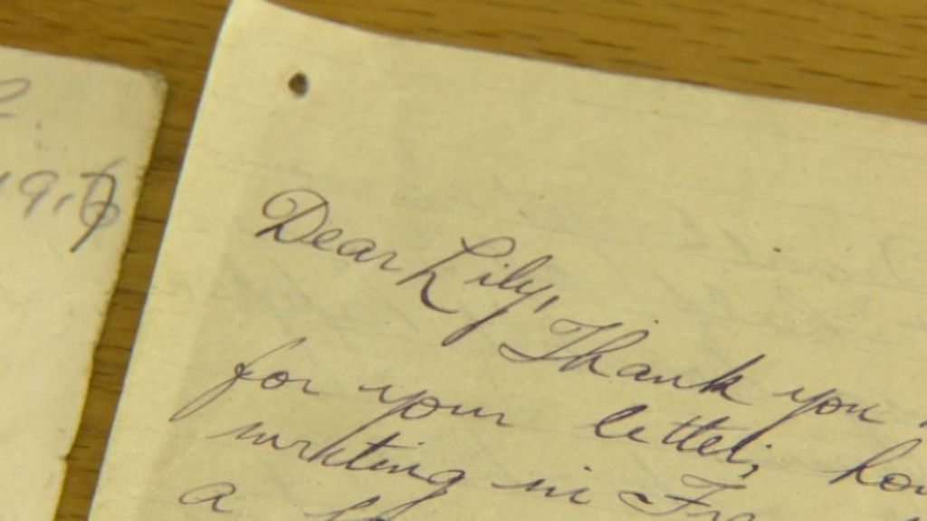 Love Letters From The Trenches Of The Somme To Belfast