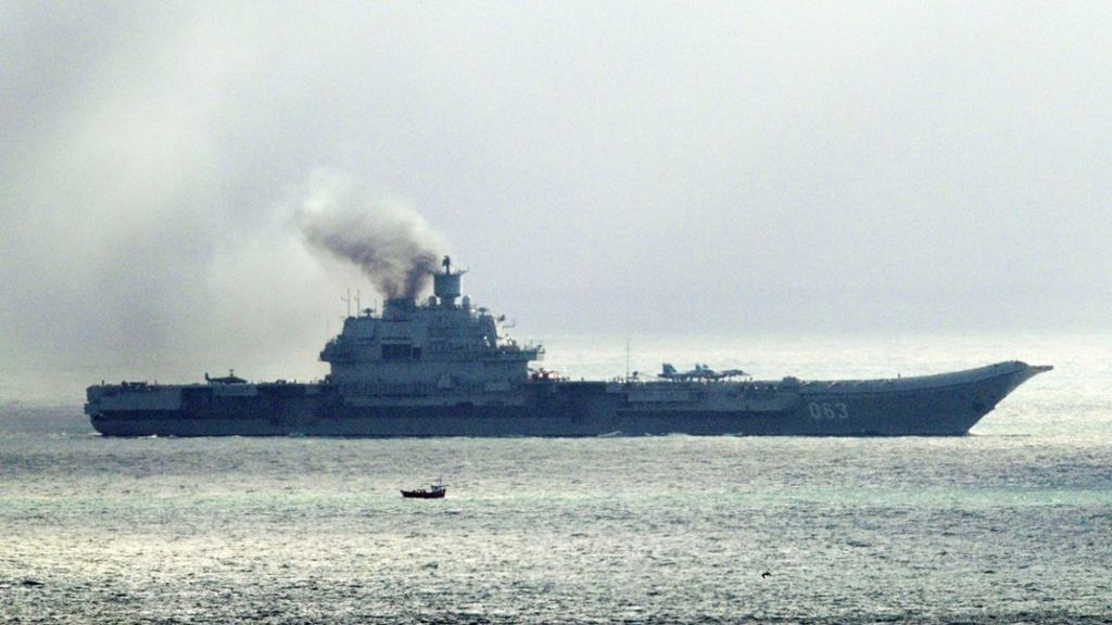 Russia warships: Kuznetsov battle group